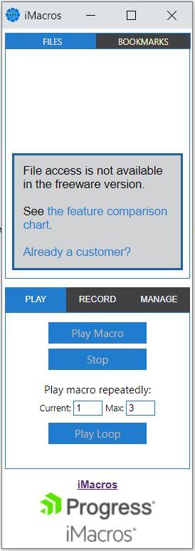 Imacros Chrome manual
