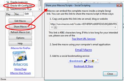 iMacros for Firefox Legacy - iMacros