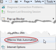 iMacros script - onlinebap.blogspot.in