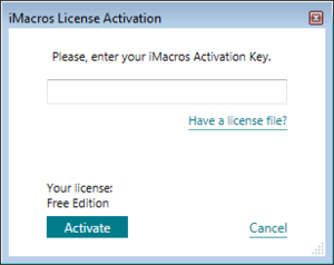 FAQ - iMacros