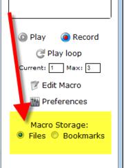Imacros commands